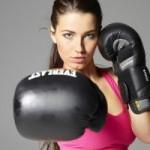 People 1920x1200 brunette pink tops boxing gloves Yara boxing kickboxing253963